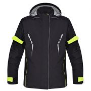 Oxford Stormseal Over Jacket Black/Fluo